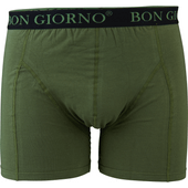 Bon Giorno Dames- of herenboxershorts 2-pack