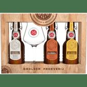 Grolsch Geschenkverpakking met glas