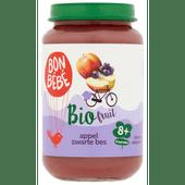 Bonbébé Biofruit 8+ maanden appel-zwarte bes-banaan