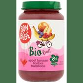 Bonbébé Biofruit 8+ maanden appel-banaan-bosbes-framboos