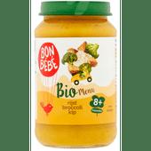 Bonbébé Biomenu 8+ maanden rijst-broccoli-kip