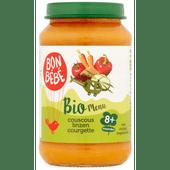 Bonbébé Biomenu 8+ maanden couscous linzen courgette