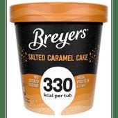 Breyers Delights salted caramel cake