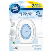Ambi Pur Luchtverfrisser badkamer&toilet katoen