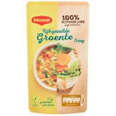 Maggi Soep in zak groente