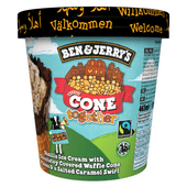 Ben & Jerry's Cone together