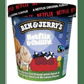 Ben & Jerry's Netflix&chill'd