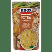 Unox Soep in zak extra gevuld indiase curry