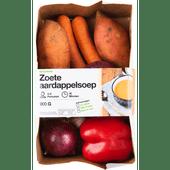 Verspakket zoete aardappelsoep