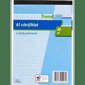 Trendline A5 schrijfblok 80vel