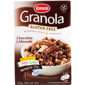 Granola chocolate almond