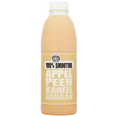 Fruity King 100% smoothie appel, peer, kaneel, banaan