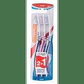 Aquafresh Tandenborstel clean & flex hard 2+1