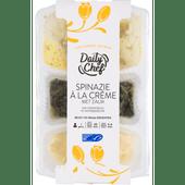 Daily Chef Zalm spinazie puree