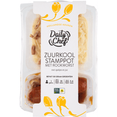 Daily Chef Zuurkool met worst
