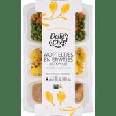 Daily Chef Worteltjes met kipfilet en krieltjes