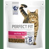 Perfect Fit Kattenvoer active rijk aan rund 1+ jaar