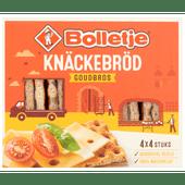 Bolletje Knackebrod goudbros 4 x 4 stuks