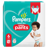 Pampers Baby dry pants extra large valuepack maat 6