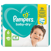 Pampers Baby dry extra large valuepack maat 6
