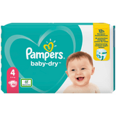 Pampers Baby dry maxi valuepack maat 4