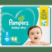 Pampers Baby dry junior valuepack maat 5
