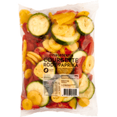 Fresh & easy Ovengroenten paprika courgette