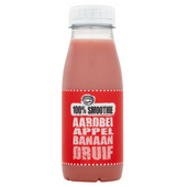 Fruity King 100% smoothie aardbei, appel, banaan, druif
