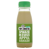 Fruity King 100% smoothie spinazie, kiwi, appel, banaan