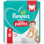 Pampers Baby dry pants maxi midpack maat 4