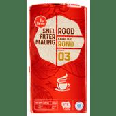 1 de Beste snelfiltermaling roodmerk koffie