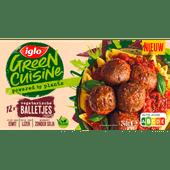 Iglo Green cuisine vega gehaktballelletjes
