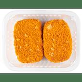 Gevulde satéburger 2 stuks
