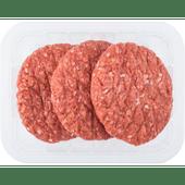 Runderhamburger 3 stuks