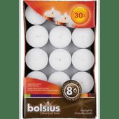 Bolsius Theelicht wit 8 branduren