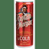 Captain Morgan Rum met cola