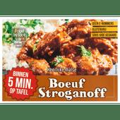 Food by four Draadjesvlees gegaard boeuf stroganoff