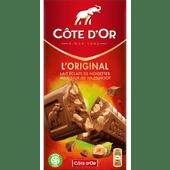 Côte d'Or Chocoladereep melk met stukjes hazelnoot