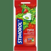 Stimorol Max splash strawberry lime