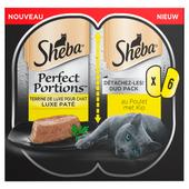 Sheba Kattenvoer alu perfect portions adult kip