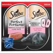 Sheba Kattenvoer alu perfect portions adult zalm