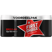 First Choice Cola zero sugar