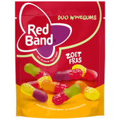 Red Band Duo winegums zoet fris