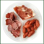 Ons Thuismerk Trio tapas schotel vlees
