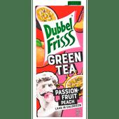 Dubbelfrisss Green tea passionfruit-peach