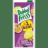 Dubbelfrisss 1kcal passievrucht-limoen