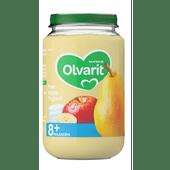 Olvarit Fruithapje 8+ maanden peer-appel-yoghurt