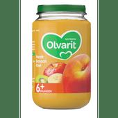 Olvarit Fruithapje 6+ maanden perzik-banaan-kiwi