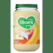 Olvarit Fruithapje 6+ maanden banaan-appel-yoghurt