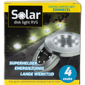 Solar disk light grondspots